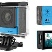 4k mini camera Blue