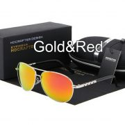Sun Glasses Gold and Red