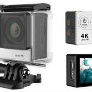 4k mini camera White