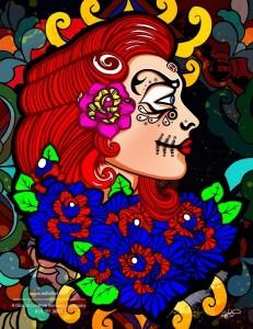 Roxy - Dia De Los Muertos